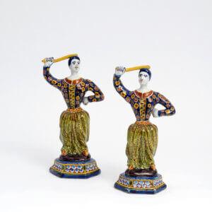 Polychrome Antique Dervishes