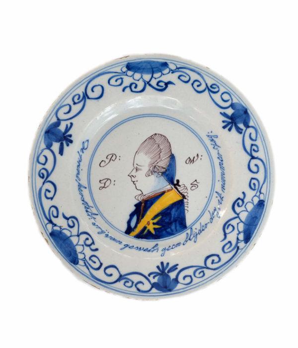antique polychrome orangist