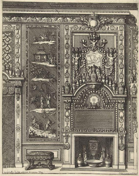 Daniel Marot, Rijksmuseum, Amsterdam Garniture Delftware