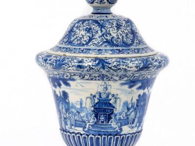 Delftware Vase Aronson Antique