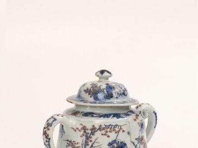 Delftware Posset Pot