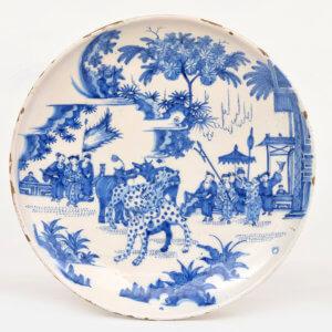 Antique Delftware Aronson Plate