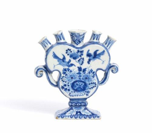 Blue Delftware Tulip Vase
