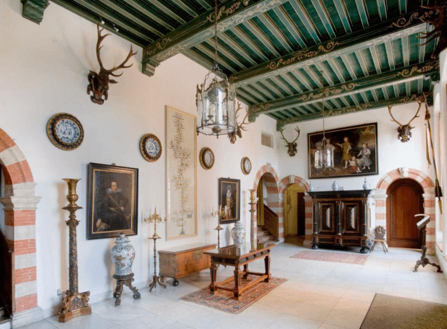 The castle of Duivenvoorde, Netherlands