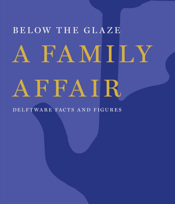 Book cover Below the Glaze. A Family Affair