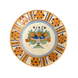 1903. Majolica Polychrome Plate
