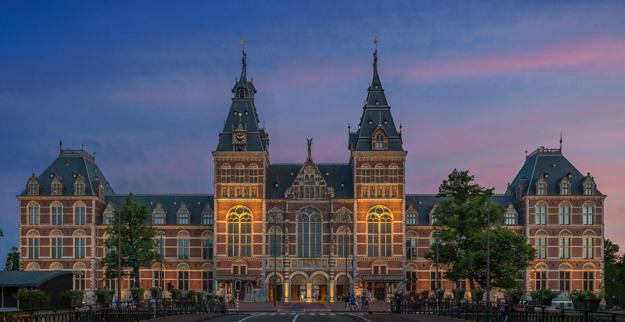 Rijksmuseum Amsterdam Exterior