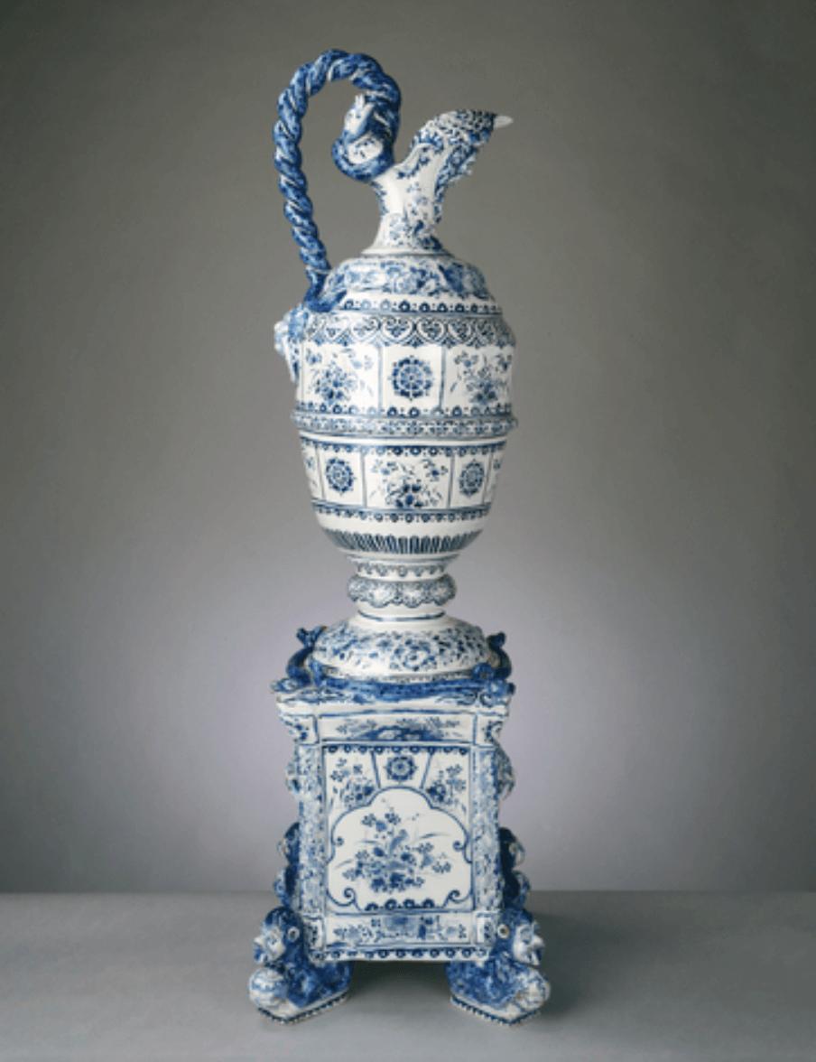 Delftware collection Hampton Court Palace