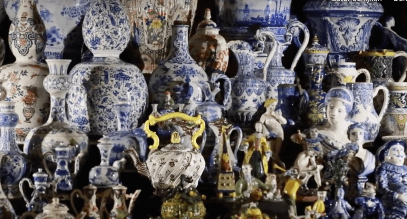 Delftware Wonderware exhibition Gemeentemuseum The Hague