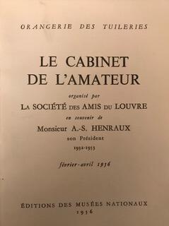 Le Cabinet de l'Amateur exhibition, Paris 1956