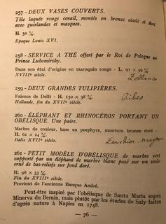 Catalogue Le Cabinet de l'Amateur exhibition, Paris 1956
