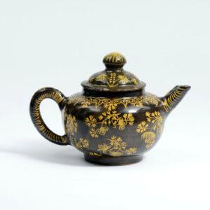 Brown-glazed Teapot