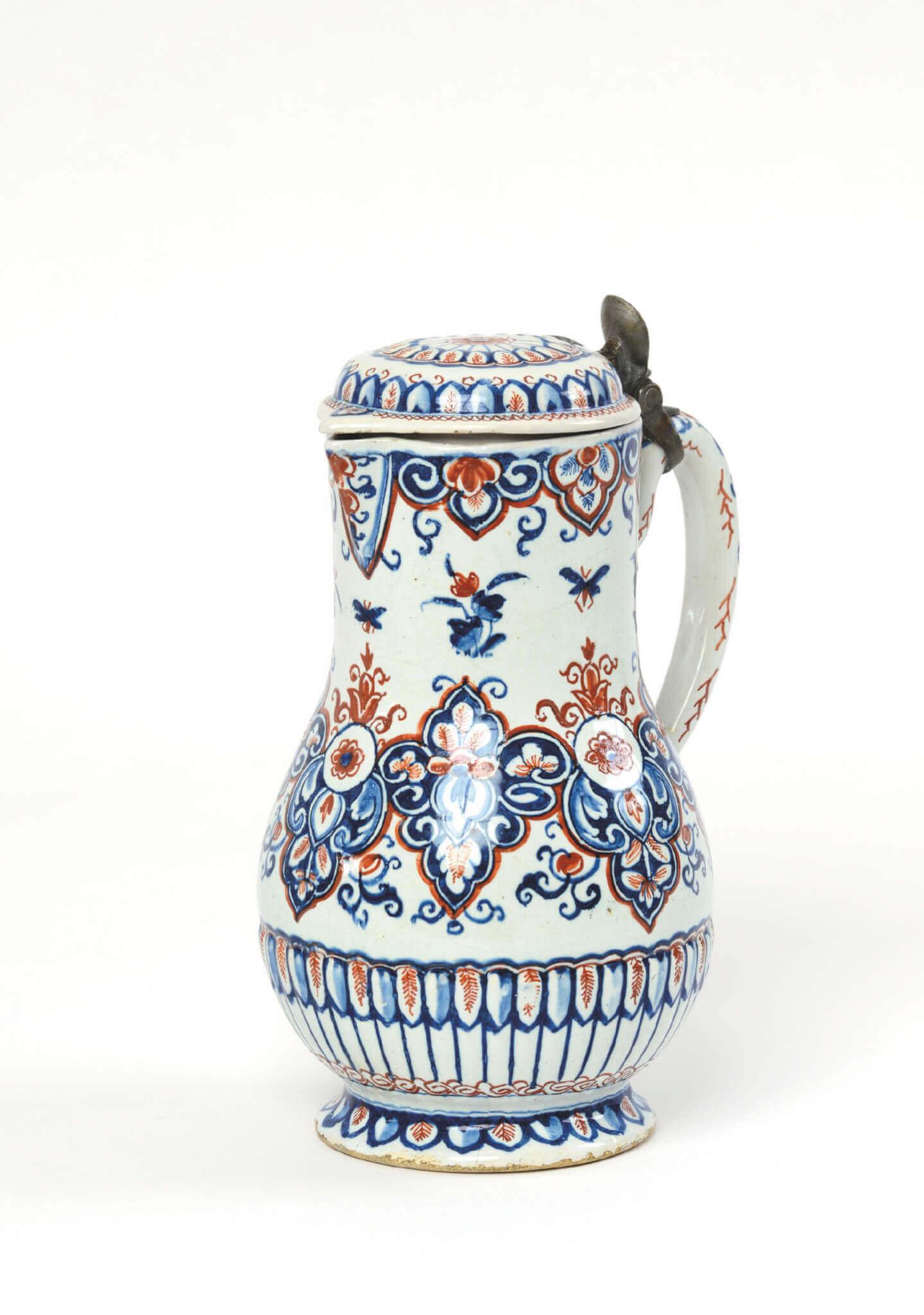 Polychrome jug