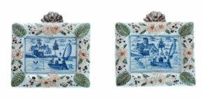 Polychrome Delftware Plaques