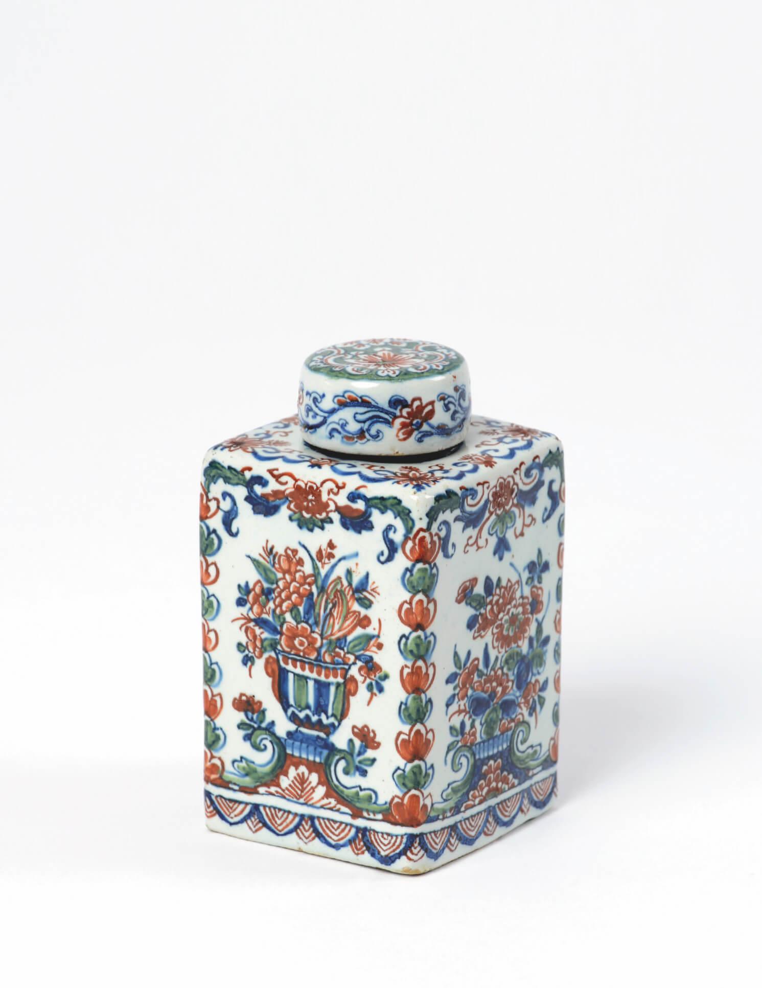 Cashmere Palette tea canister