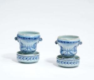 Blue And White Jardinières