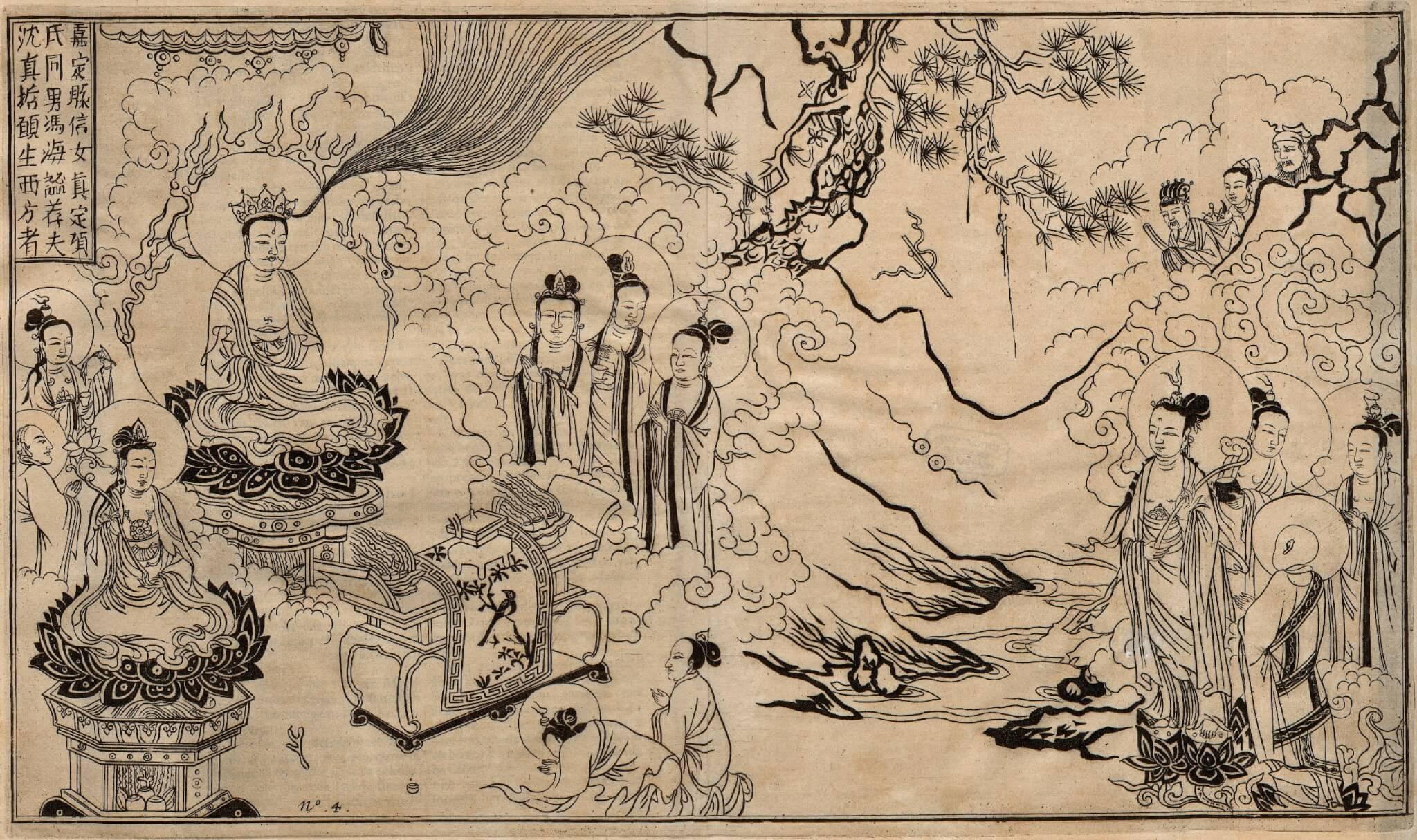 Print Sina by Olfert Dapper