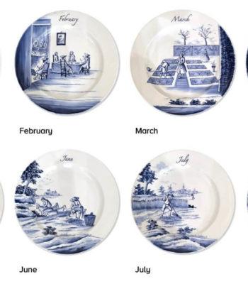Complete Series Of Seasonal Plates