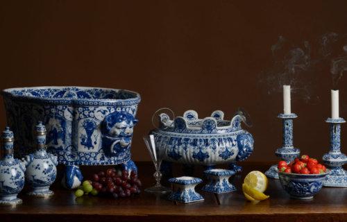 Delftware Banquet Table 17th Century