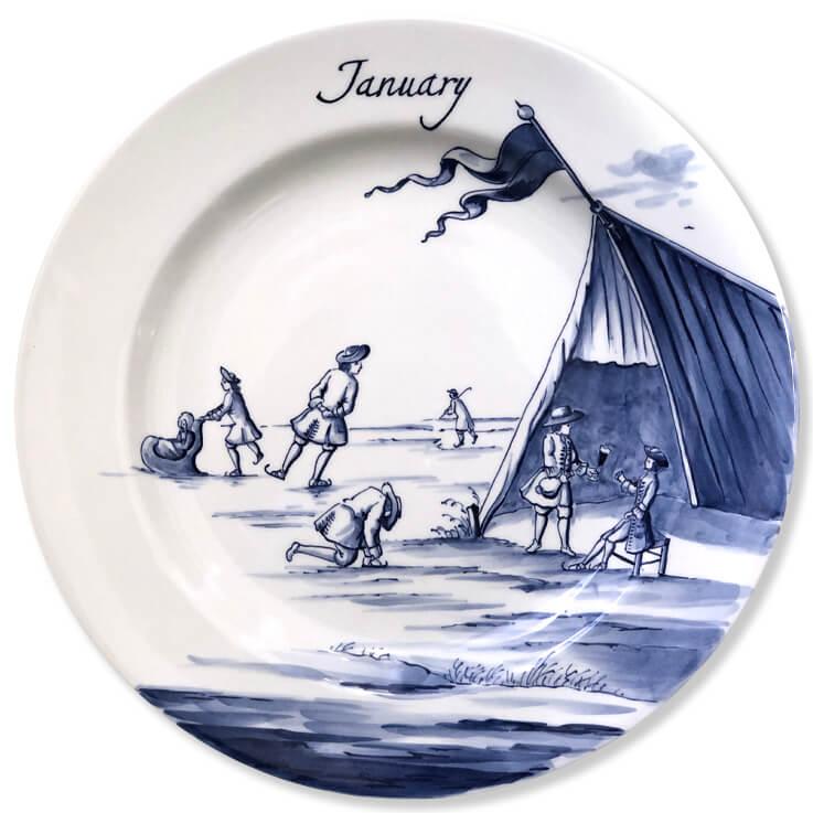 January Plate
