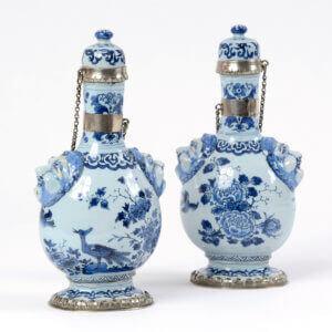 2004 Delftware Pilgrims Bottles