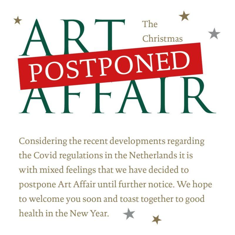 Art Affair December 2020 Postponed