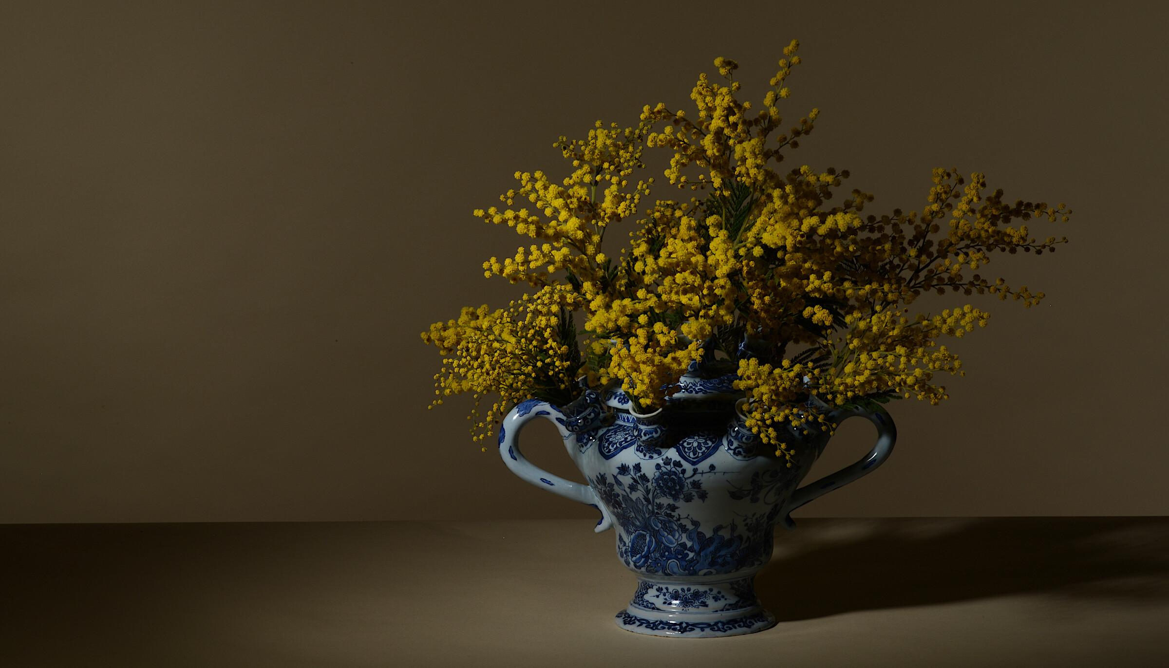 Rare Delftware SVE vase