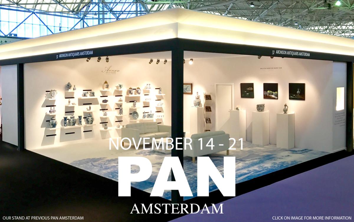 Aronson Delftware at PAN Amsterdam 2021